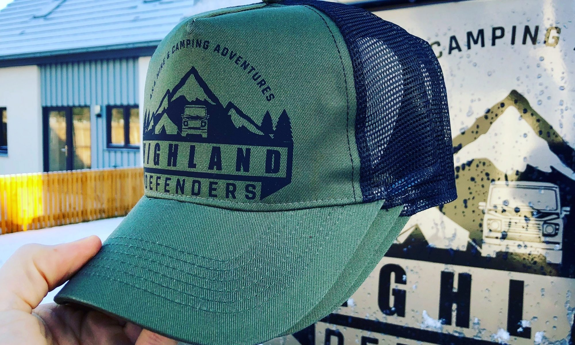 Land Rover Trucker Hats / Cap