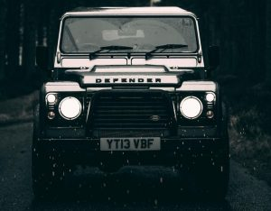 Inverness Land Rover Defender Hire