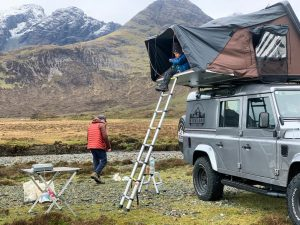 iKamper roof tent hire Scotland