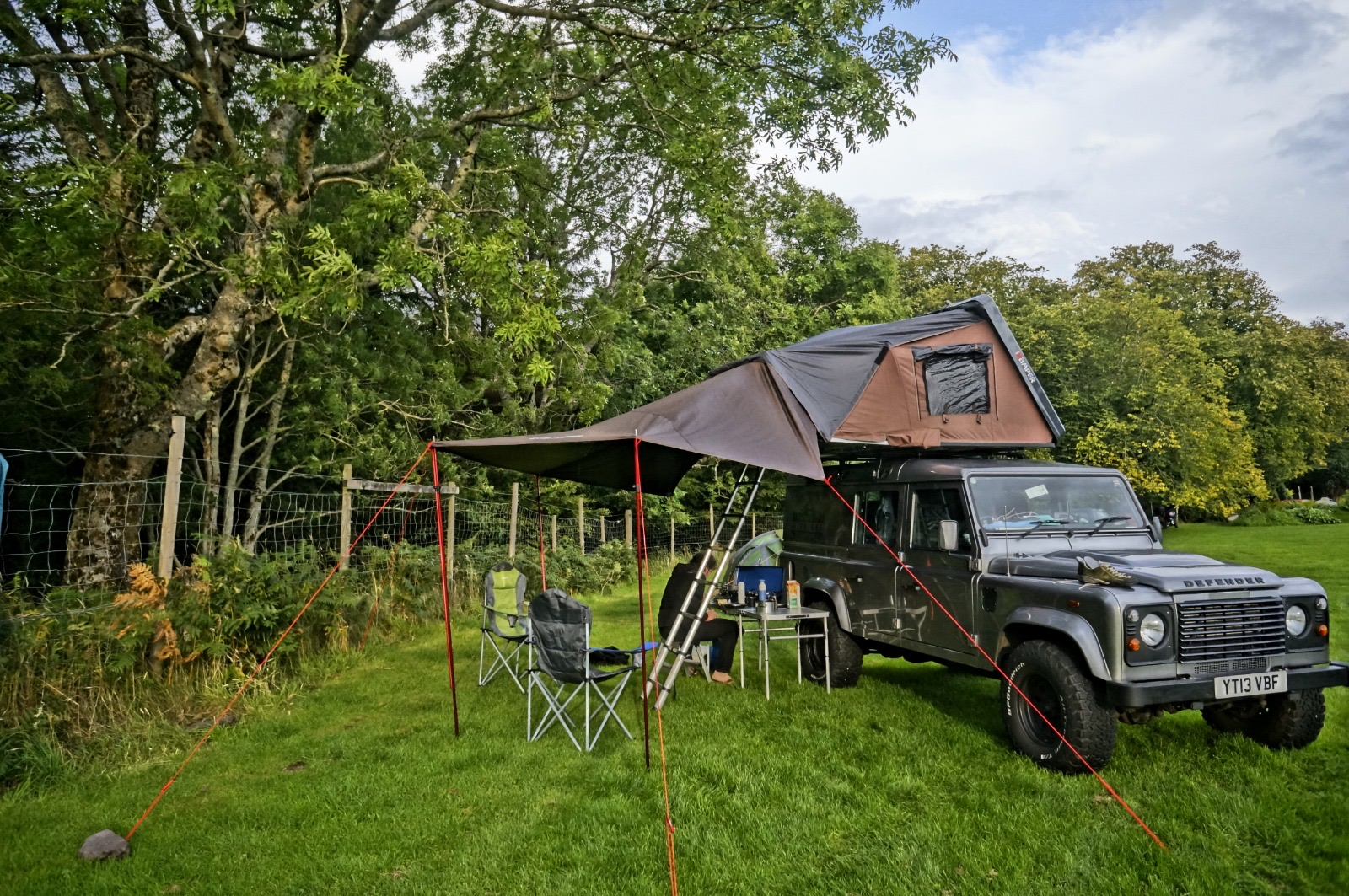 Defender Roof Tent Hire