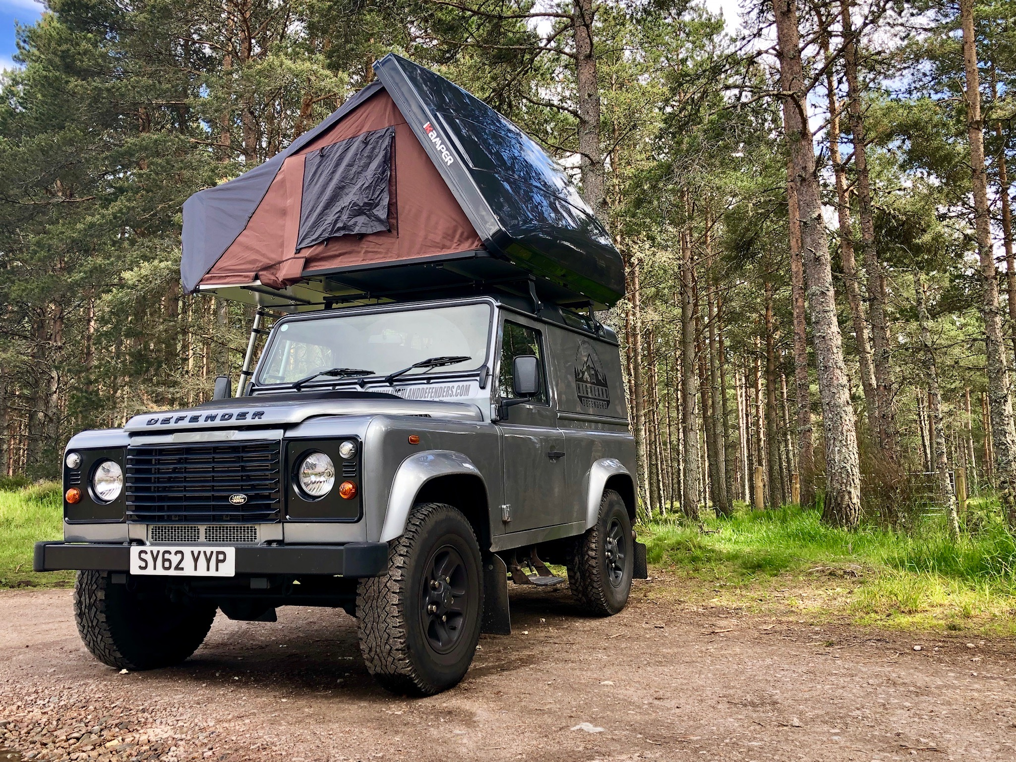 Land Rover Defender 4x4 Hire in Scotland