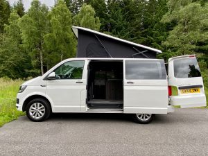 VW Camper Hire in Inverness